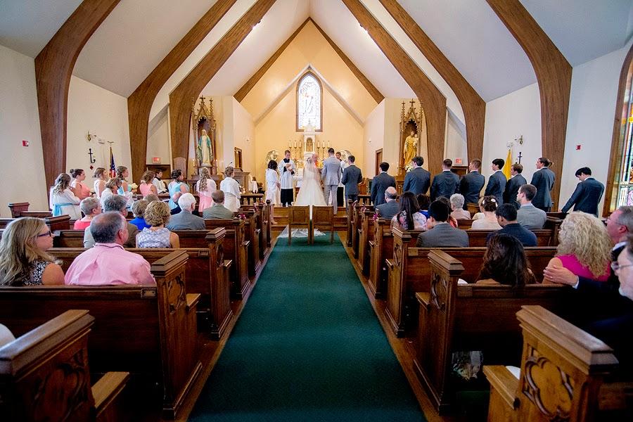 Wedding at Christendom College Chapel