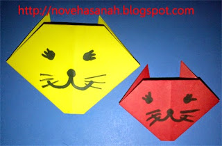 papercraft origami anak TK dan anak SD