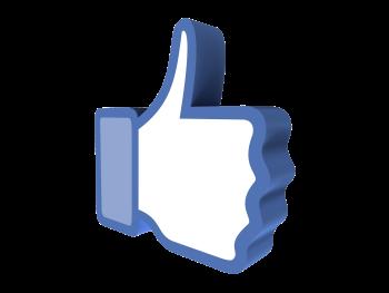 Resultado de imagem para simbolo facebook fundo transparente