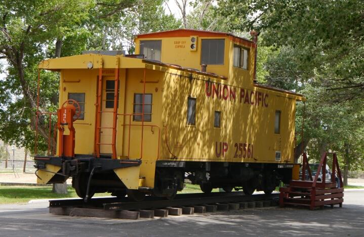 Sinclair's caboose