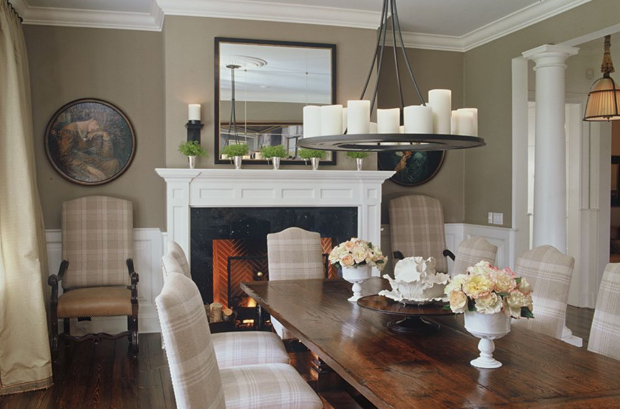 Taupe walls on pinterest google wall paint colors and taupe for Dining room wall colors