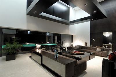 decora o interior de casas modernas