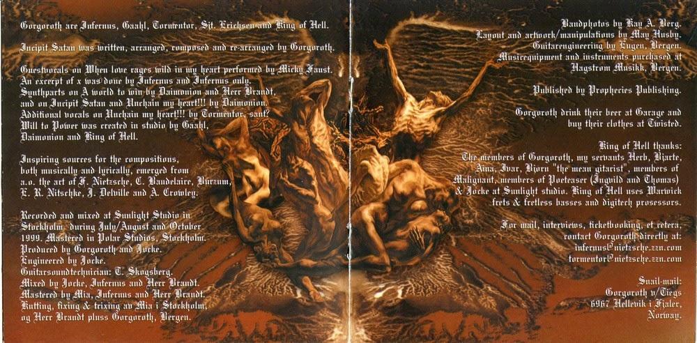 Sinta a escurido metal blog gorgoroth destroyer incipit satan 1 destroyer 2 open the gates 3 the devil the sinner and his journey 4 om kristen og jodisk tru 5 pa slagmark langt mot nord 6 blodoffer publicscrutiny Image collections