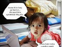 Ragam Anak Gua Bila Nak Update Blog