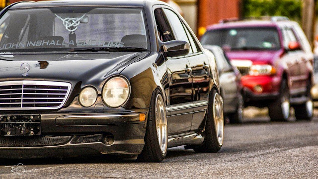 mercedes w210 e55 amg stance