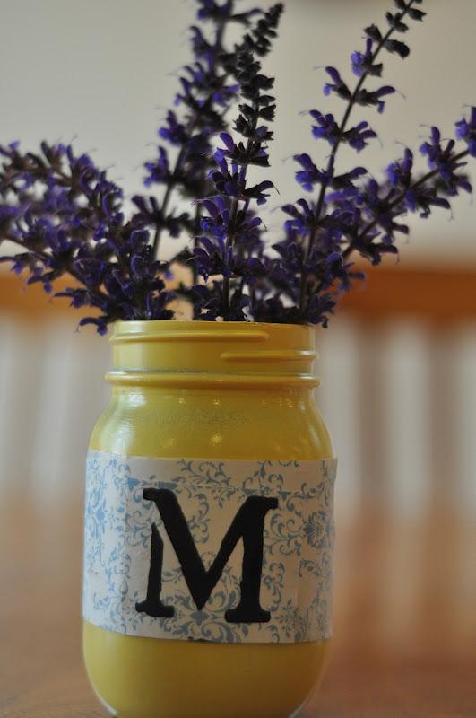 Easy mason jar centerpiece little birdie secrets