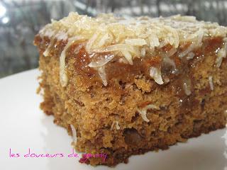recettes dessert  Gâteau Reine Élisabeth