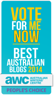 Best Aussie Blogs Nominee