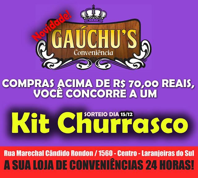 Laranjeiras do Sul:Gaúchu's Conveniência a mais nova opção de entretenimento