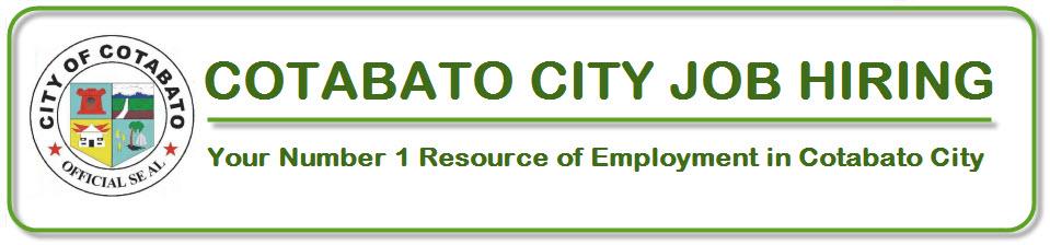 Cotabato City Jobs Hiring