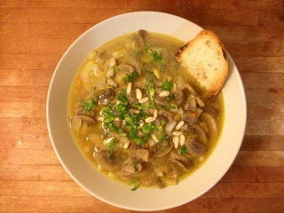 zuppa di funghi - mushrooms soup