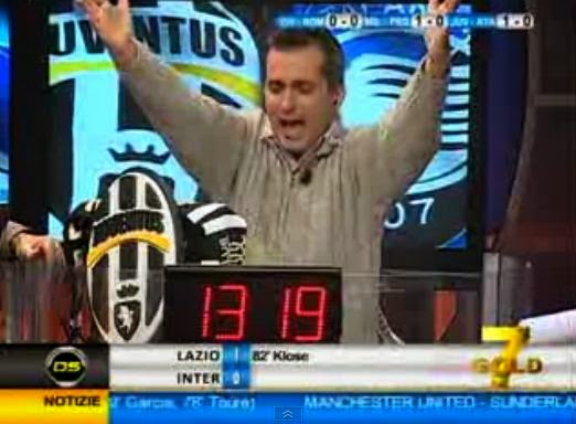 Antonio Paolino Juventus-Atalanta 3-0