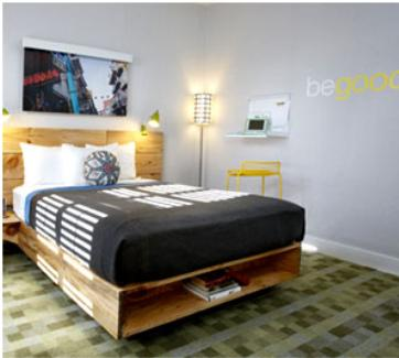 Designer eco eco design hotel feature san francisco for Design hotel san francisco