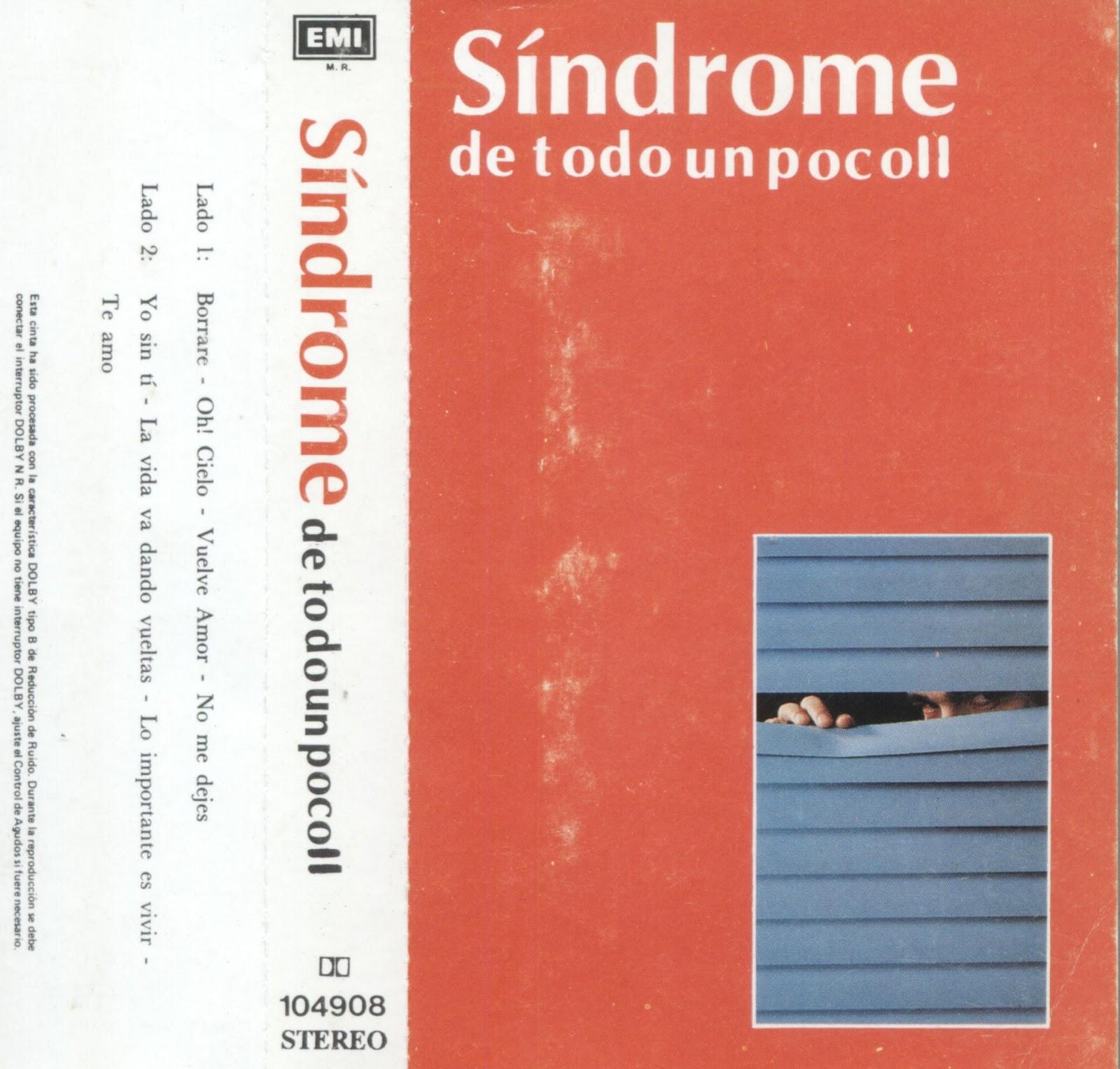 rockchilenos sindrome de todo un poco ii 1989 resubido. Black Bedroom Furniture Sets. Home Design Ideas