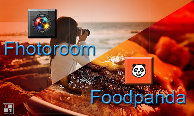 Fhotoroom and Foodpanda techmix
