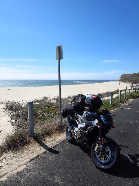 Aprilia Tuono Pacific Coast Highway