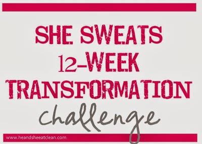 She Sweats 12-Week Transformation Challenge {2014}