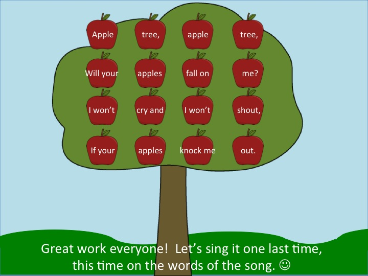 Image result for apple tree singing game