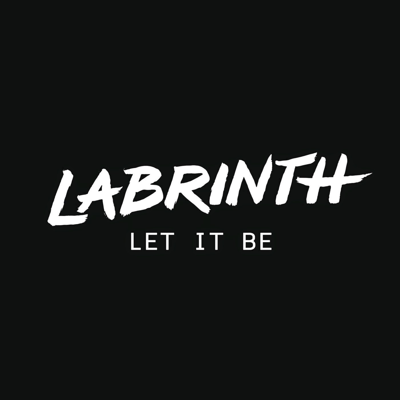 Labrinth - Let It Be - Single Cover