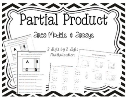 Worksheets Partial Product Multiplication Worksheets products worksheets delibertad partial delibertad