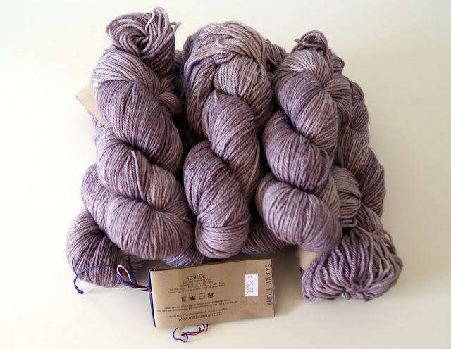 Soft, plush, sugarplum madtosh!