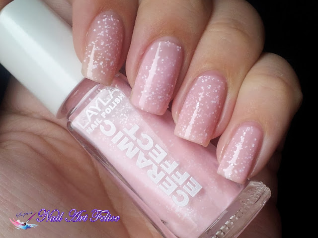 CE102 Bubble Cream - Ceramic Sorbet Effect Layla - Swatch01 - Nail Art Felice