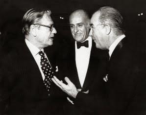 Con el vicepresidente de los Estados Unidos, Nelson Rockefeller.