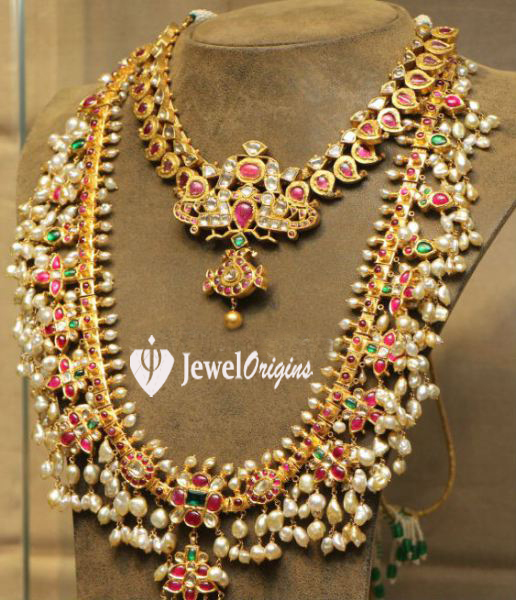 Designer gold and diamond for Simple gold ornaments