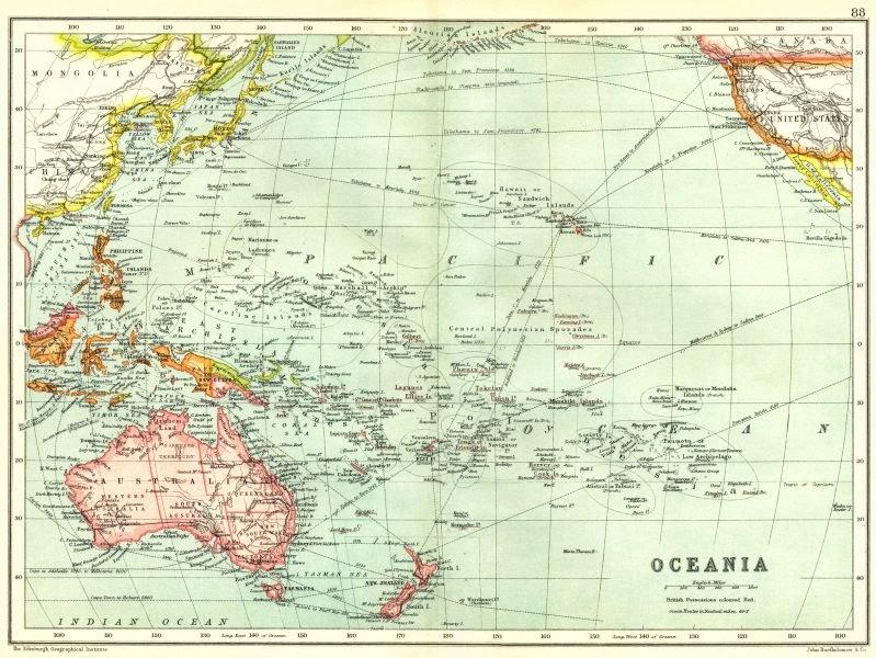 Oceania Australasia