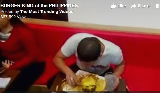 Pinoy Burger King of the Zark's Burgers goes viral