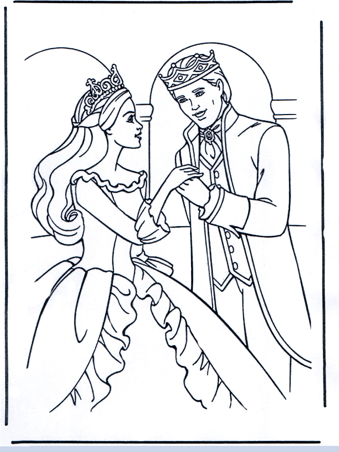 Barbie drawing pictures drawing pictures for Barbie princess coloring page