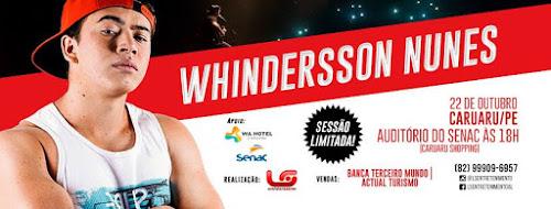 Whindersson Nunes em Caruaru - PE 22 de Novembro 2016