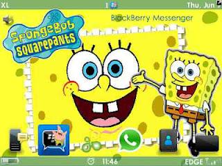 Berikut ini adalah daftar tema BlackBerry Spongebob Squarepants yang ...