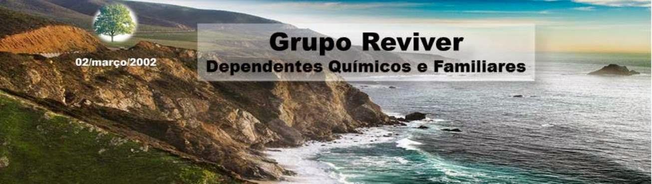 Grupo Reviver - Dependência Química e Codependência