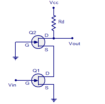 cascode amplifier a short note my own thoughtsfet cascode amplifier basic circuit