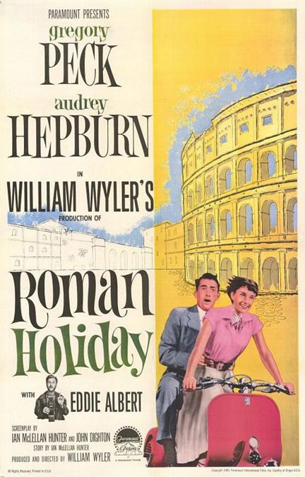 Roman Holiday [1953] Roman-holiday-poster