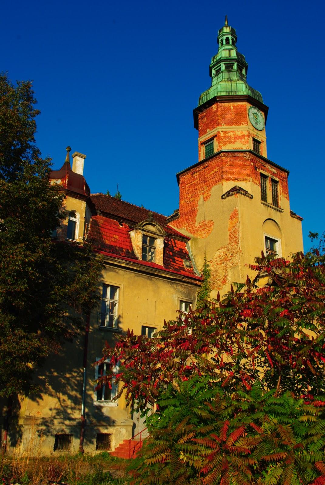 Pałac w Pustkowie Żurawskim