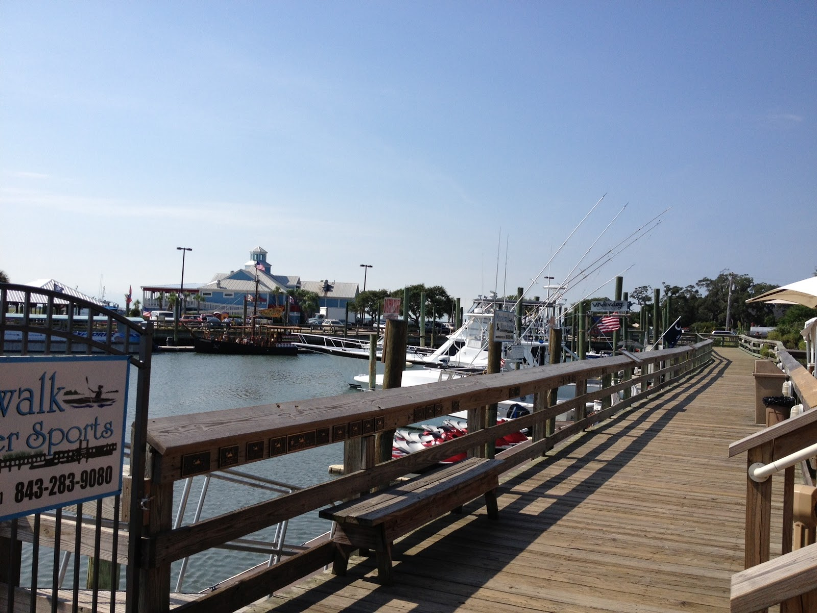 Beside The Crazy Sister Marina And Wicked Tuna Restaurant Sightseer Can Walk Along An Outstretched Pier Also Stroll On Marsh