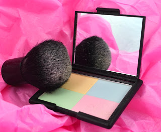 ELF - Pressed powder - Tone correcting powder - review - swatch