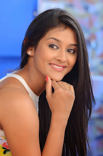 Actress Pooja Jhaveri Latest Picture Shoot Gallery in Floral Short Dress  009.JPG