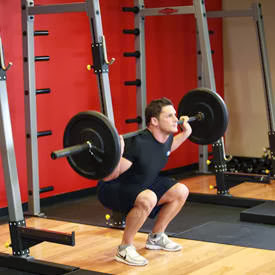 Not torture. Bottom position squats point