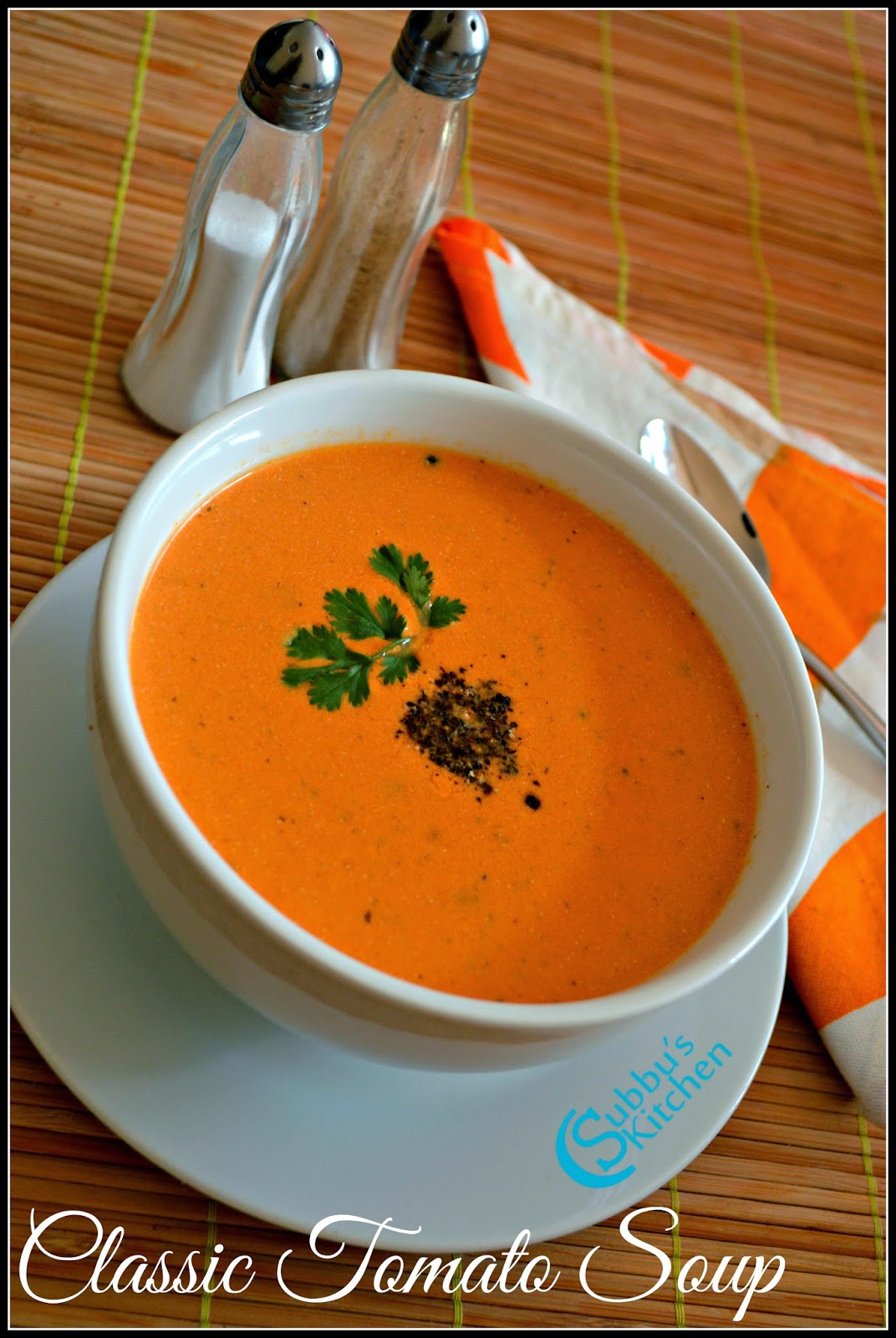 Tomato Soup Recipe | Classic Tomato Soup Recipe
