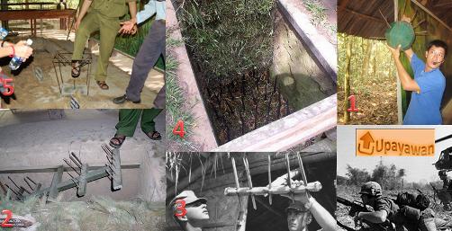 Ilustrasi Senjata Gerilyawan Vietnam Semasa Perang Dengan Amerika Serikat - Upayawan