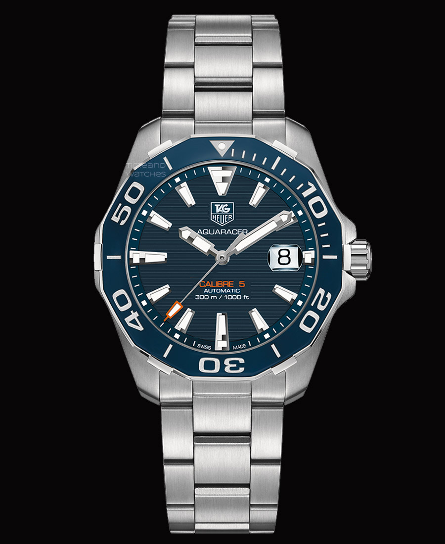Tag heuer aquaracer 300m calibre 5 ceramic bezel time and watches for The tag heuer aquaracer