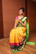 Sangeetha Kamath dazzling saree photos-thumbnail-11