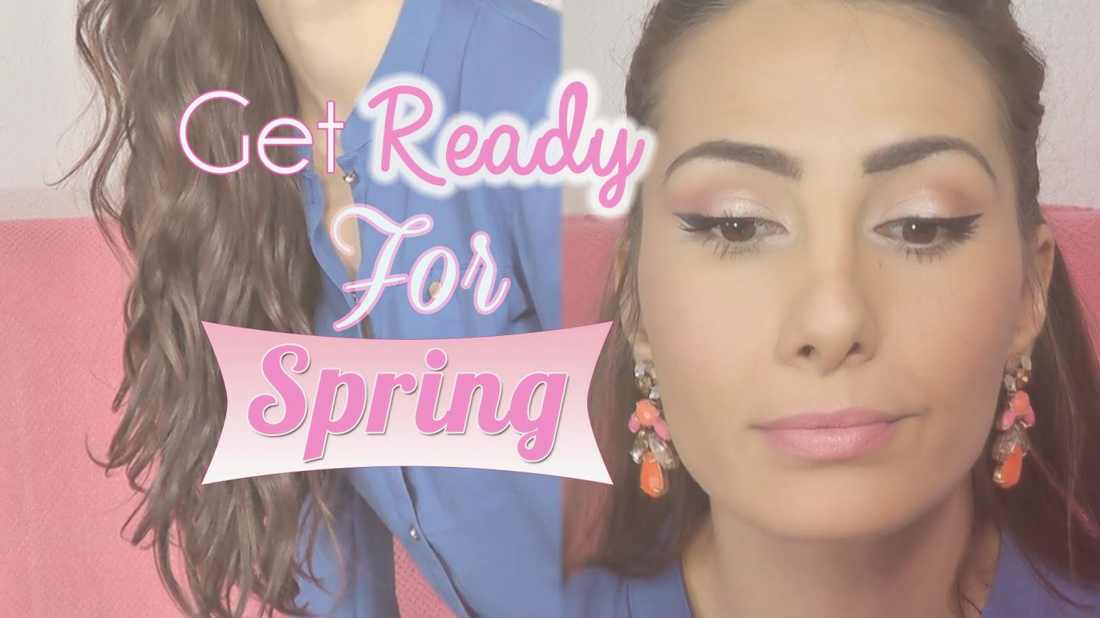 maquillage printemps makeup glowy bureaux blog beauté
