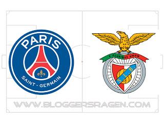 Prediksi Pertandingan Benfica vs Paris Saint-Germain