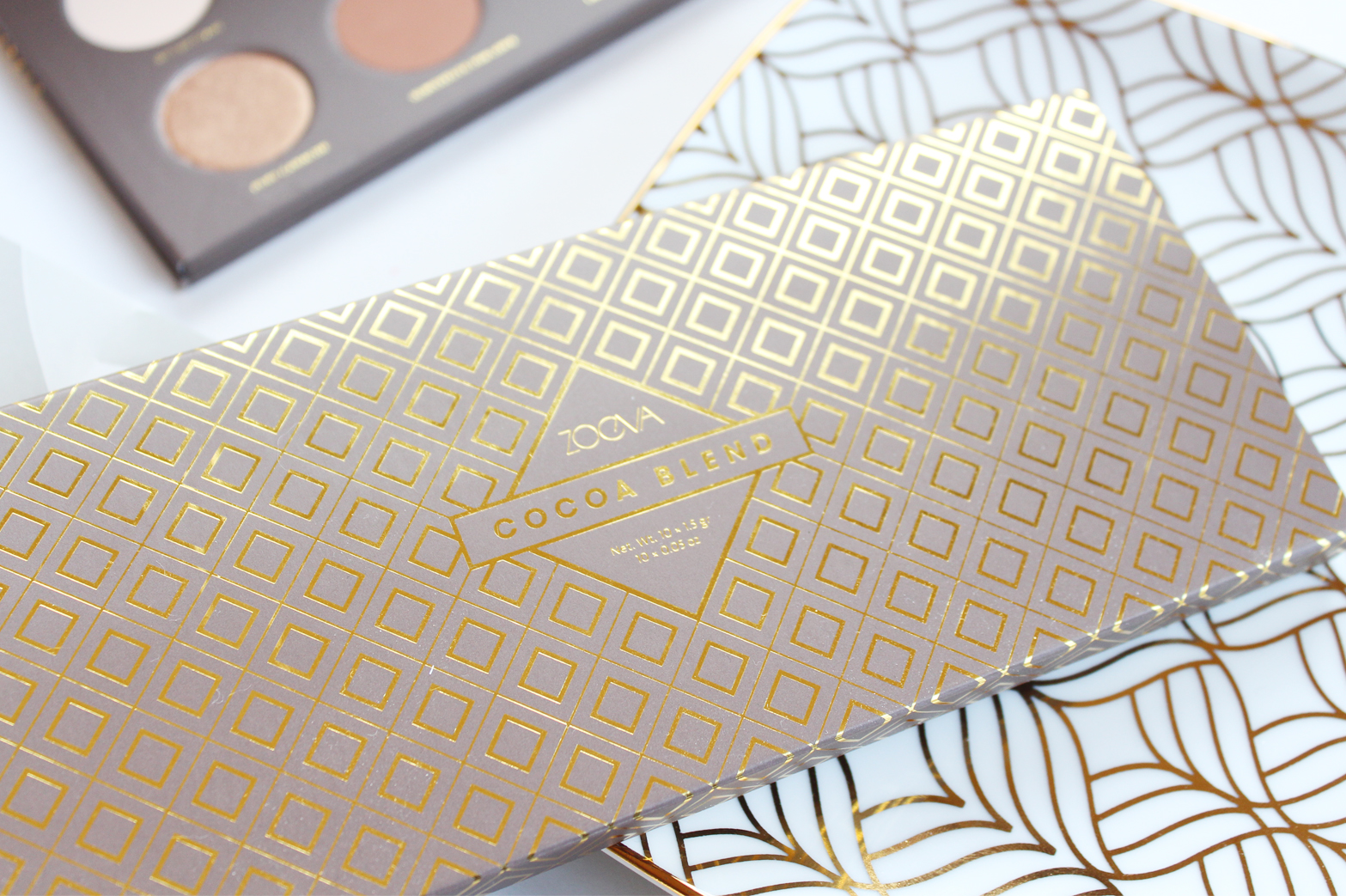 ZOEVA | Cocoa Blend Eyeshadow Palette - Review + Swatches - CassandraMyee