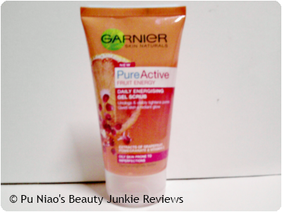 Garnier Pure Active Fruit Energy Daily Energising Gel Scrub