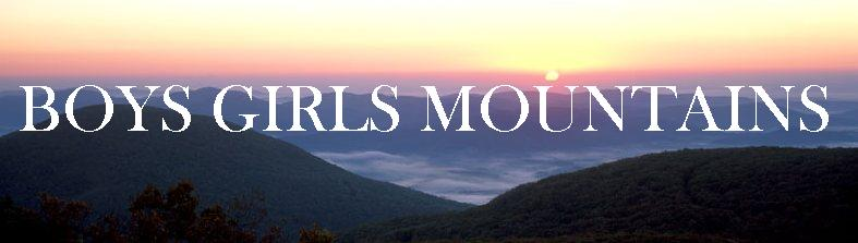 Boys Girls Mountains